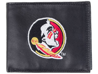 Florida State Seminoles Black Bifold Wallet