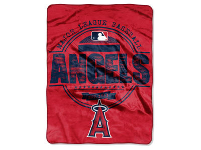 Los Angeles Angels Micro Raschel 46inch x 60inch Structure Blanket