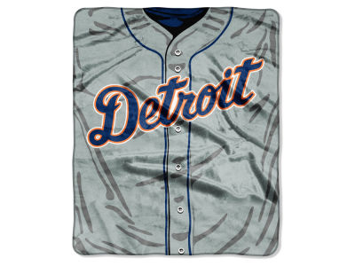 Detroit Tigers 50x60in Plush Throw Jersey