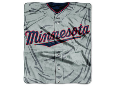 Minnesota Twins 50x60in Plush Throw Jersey