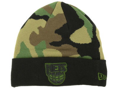 New Jersey Nets New Era NBA HWC Fashion Cuff Knit