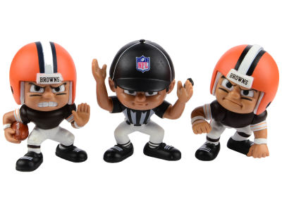 Cleveland Browns 3pk Lil Teammates