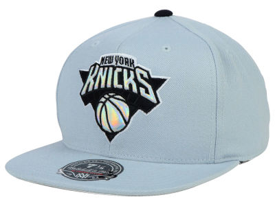 New York Knicks Mitchell and Ness NBA The Foils Fitted Cap