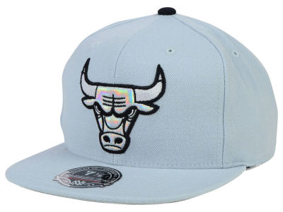 Chicago Bulls Mitchell and Ness NBA The Foils Fitted Cap
