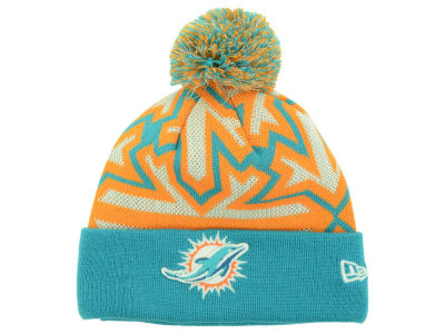 Miami Dolphins New Era NFL Glowflake Knit