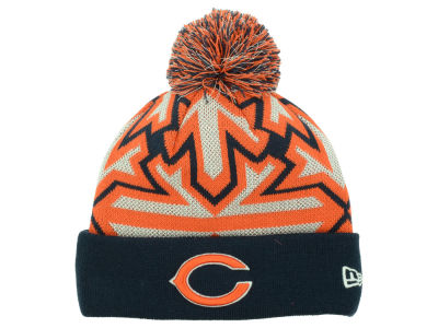 Chicago Bears New Era NFL Glowflake Knit