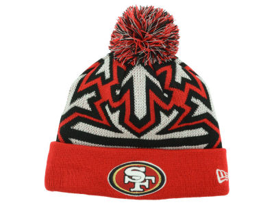 San Francisco 49ers New Era NFL Glowflake Knit