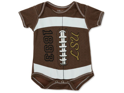 LSU Tigers NCAA Infant MVP Football Creeper