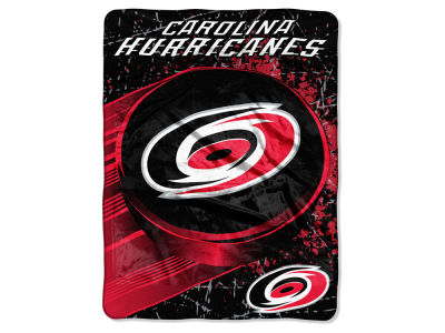 "Carolina Hurricanes Micro Raschel 46x60 ""Ice Dash"""