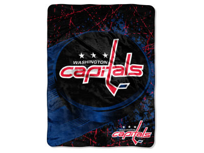 "Washington Capitals Micro Raschel 46x60 ""Ice Dash"""