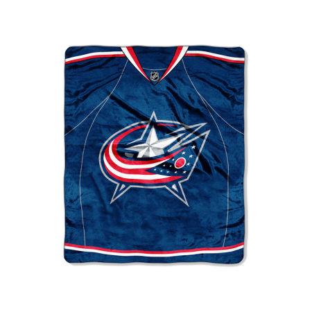 Columbus Blue Jackets 50x60in Plush Throw Jersey