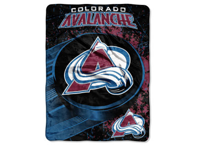 "Colorado Avalanche Micro Raschel 46x60 ""Ice Dash"""