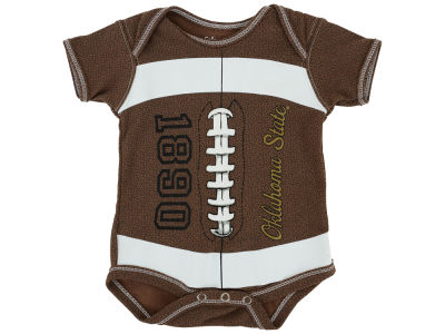 Oklahoma State Cowboys NCAA Newborn MVP Football Creeper