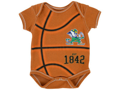 Notre Dame Fighting Irish NCAA Newborn MVP Basketball Creeper