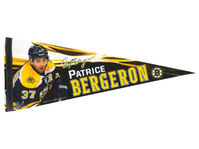 Boston Bruins Patrice Bergeron 12x30 Premium Player Pennant