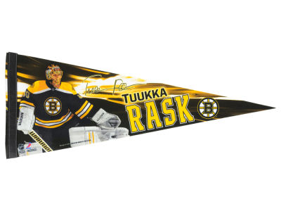 Boston Bruins Tuukka Rask 12x30 Premium Player Pennant