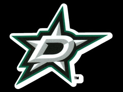 Dallas Stars 4x4 Die Cut Decal Color