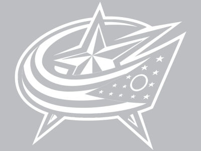 "Columbus Blue Jackets Die Cut Decal 8""x8"""