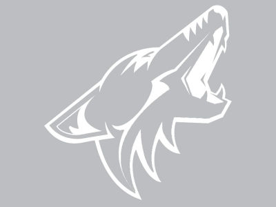 "Arizona Coyotes Die Cut Decal 8""x8"""