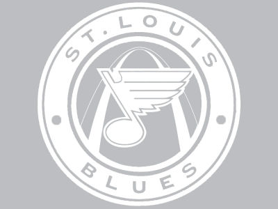 "St. Louis Blues Die Cut Decal 8""x8"""