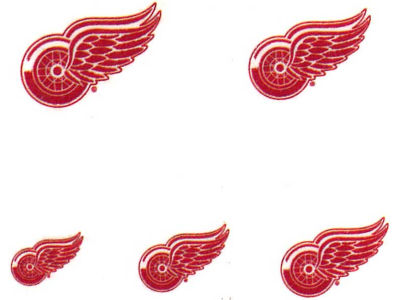 Detroit Red Wings Tattoo Nail