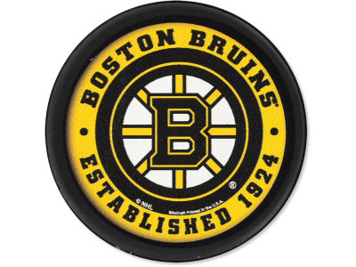 Boston Bruins Flat Team Puck