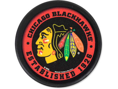 Chicago Blackhawks Flat Team Puck