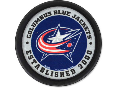 Columbus Blue Jackets Flat Team Puck