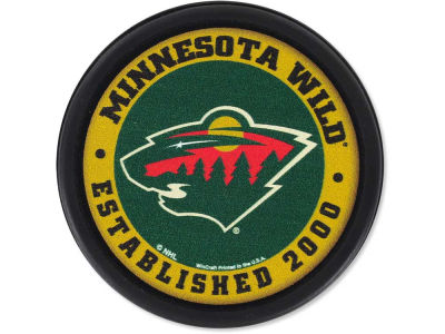Minnesota Wild Flat Team Puck