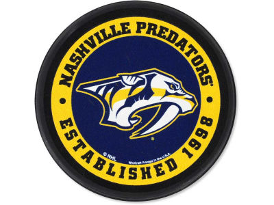 Nashville Predators Flat Team Puck