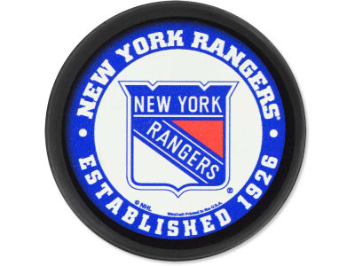 New York Rangers Flat Team Puck