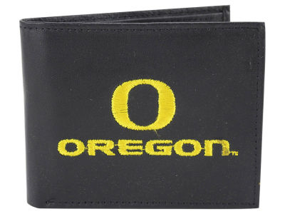 Oregon Ducks Black Bifold Wallet