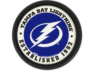 Tampa Bay Lightning Flat Team Puck