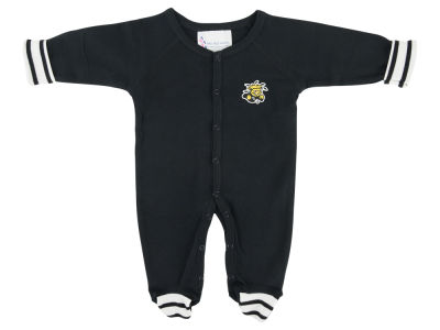 Wichita State Shockers NCAA Newborn Footed Stripe Creeper