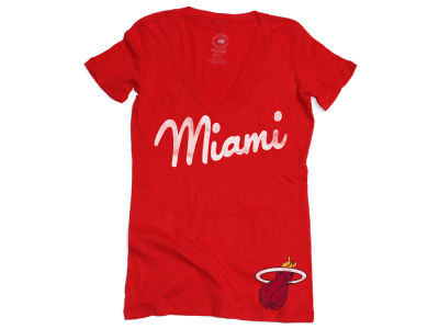 Miami Heat NBA Womens Icing Vintage T-Shirt