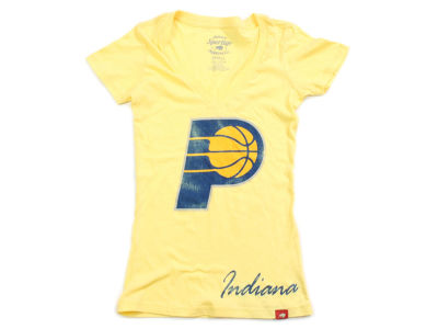 Indiana Pacers NBA Womens Custom Vintage T-Shirt