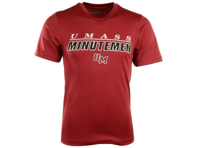 Massachusetts Minutemen NCAA Team Line Poly T-Shirt
