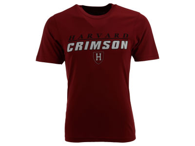 Harvard Crimson NCAA Team Line Poly T-Shirt