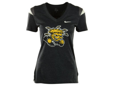 Wichita State Shockers NCAA Womens Touchdown Logo T-Shirt
