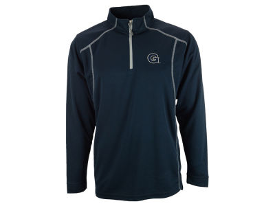Georgetown Hoyas NCAA Poly Mesh 1/4 Zip Up Pullover Shirt