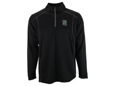 Michigan State Spartans NCAA Men's Poly Mesh 1/4 Zip Pullover Shirt
