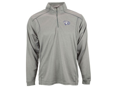 New Hampshire Wildcats NCAA Poly Mesh 1/4 Zip Up Pullover Shirt
