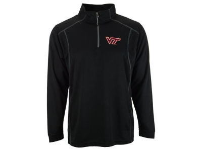 Virginia Tech Hokies NCAA Poly Mesh 1/4 Zip Up Pullover Shirt