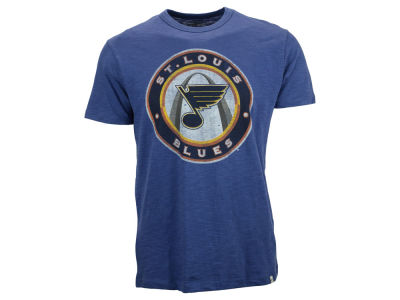 St. Louis Blues '47 NHL Alt Logo Scrum T-Shirt