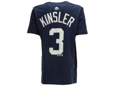 Detroit Tigers Ian Kinsler MLB Youth Official Player T-Shirt