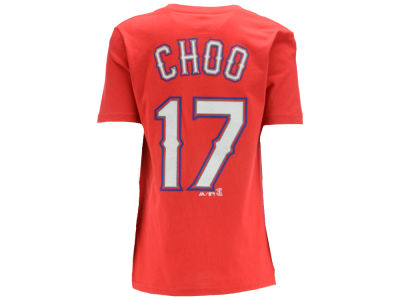 Texas Rangers Shin-Soo Choo MLB Youth Official Player T-Shirt