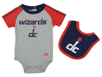 Washington Wizards NBA Bib and Bootie Set
