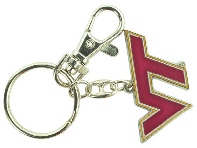 Virginia Tech Hokies Heavyweight Keychain