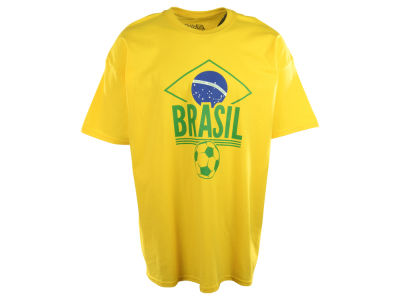 Brazil Soccer Country Graphic T-Shirt