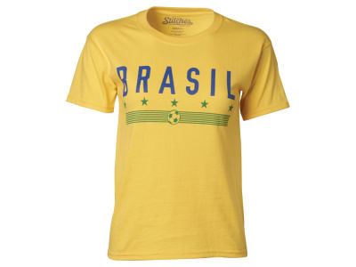 Brazil Youth Soccer Country Graphic T-Shirt